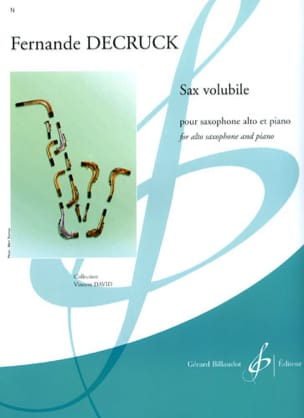 Sax volubile Fernande Decruck Partition Saxophone - laflutedepan