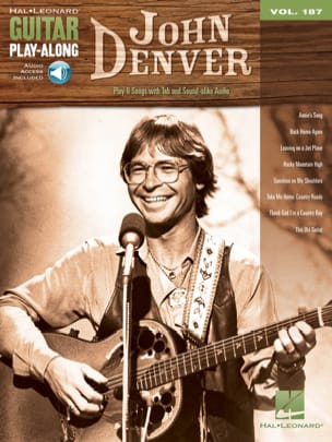 Guitar Play-Along Volume 187 John Denver John Denver laflutedepan