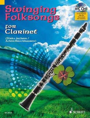 Swinging Folksongs - Partition - Clarinette - laflutedepan.com