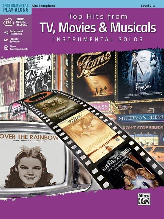Top Hits from TV - Saxophone Alto - Partition - laflutedepan.com