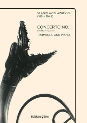 Concerto N° 1 Vladislav Blazhevich Partition Trombone - laflutedepan