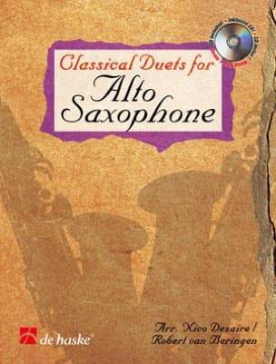 Classical Duets For Alto Saxophone Partition laflutedepan