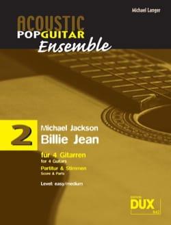 Billie Jean - Acoustic pop guitar ensemble N°2 laflutedepan