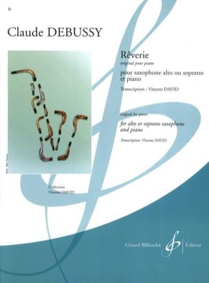 Rêverie DEBUSSY Partition Saxophone - laflutedepan