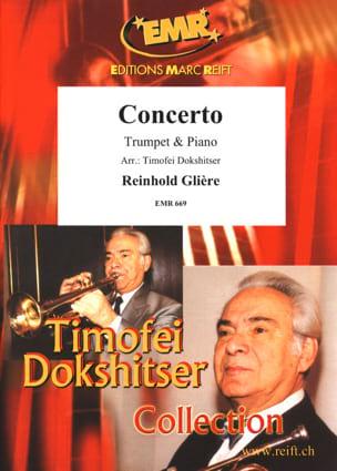 Concerto Reinhold Glière Partition Trompette - laflutedepan