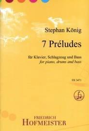 7 Préludes - Stephan König - Partition - Jazz - laflutedepan.com