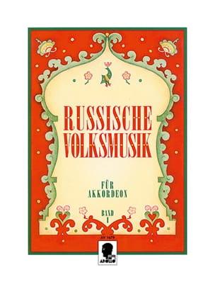 Russische Volksmusik Volume 1 Partition Accordéon - laflutedepan