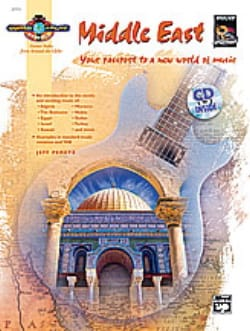 Middle East - Guitar Atlas Jeff Peretz Partition laflutedepan
