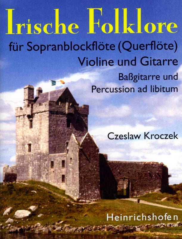 Irische Folklore 1 - Czeslaw Kroczek - Partition - laflutedepan.com