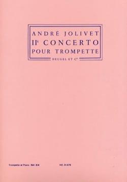 2e Concerto André Jolivet Partition Trompette - laflutedepan