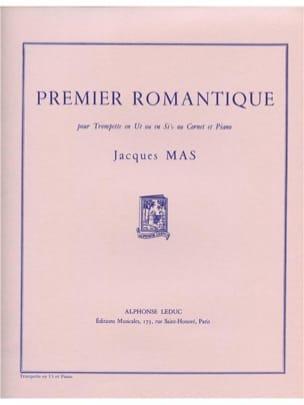 Premier Romantique Jacques Mas Partition Trompette - laflutedepan