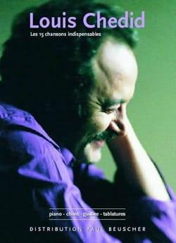 Les 15 Chansons Indispensables Louis Chedid Partition laflutedepan