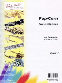 Pop-Corn Francis Coiteux Partition Cor - laflutedepan