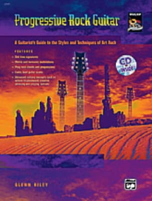 Progressive Rock Guitar - Glenn Riley - Partition - laflutedepan.com