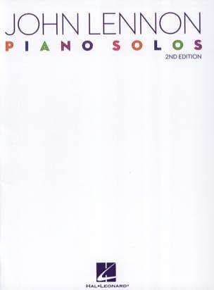 John Lennon - Solos Pianos - Partition - di-arezzo.com
