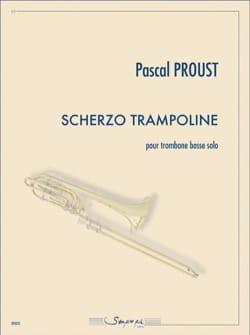 Scherzo trampoline Pascal Proust Partition Tuba - laflutedepan