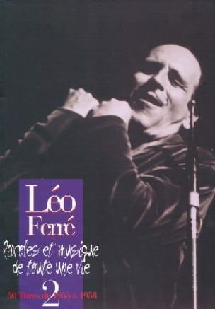 Paroles Et Musiques de Toute Une Vie Volume 2 1955-58 - laflutedepan.com