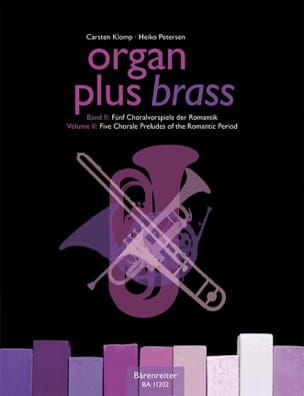 Organ plus brass volume 2 - Five chorale - laflutedepan.com