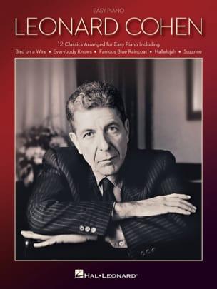 Leonard Cohen - Leonard Cohen for Easy Piano - Partition - di-arezzo.co.uk