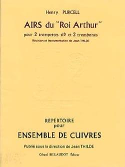 Airs du Roi Arthur PURCELL Partition laflutedepan