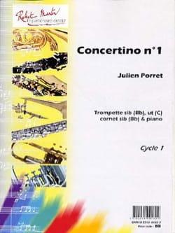 Concertino N° 1 Julien Porret Partition Trompette - laflutedepan