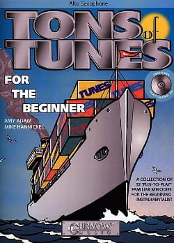 Tons Of Tunes For The Beginners Adam Amy / Hannickel Mike laflutedepan