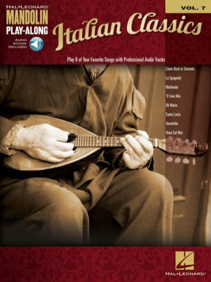 Mandolin Play-Along Volume 7 Italian Classics Partition laflutedepan