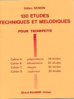 130 Etudes Volume A - 34 Etudes Gilles Senon Partition laflutedepan