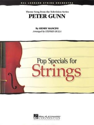 Peter gunn - Pop specials for strings MANCINI Partition laflutedepan
