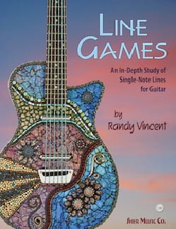 Line games - An in-depth study of single-note lines for guitar laflutedepan