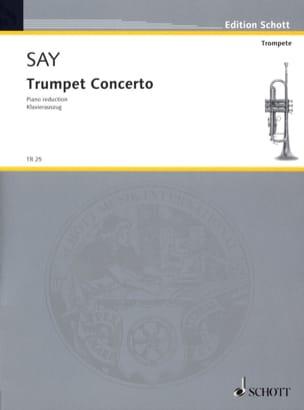 Concerto pour Trompette, Opus 31 - Fazıl Say - laflutedepan.com