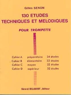 130 Etudes Volume B - 32 Etudes Gilles Senon Partition laflutedepan