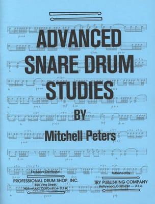 Advanced Snare Drum Studies Mitchell Peters Partition laflutedepan