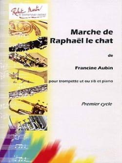 Marche de Raphaël le Chat Francine Aubin Partition laflutedepan