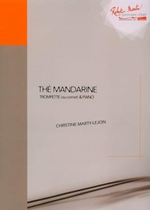 Thé mandarine Christine Marty-Lejon Partition Trompette - laflutedepan