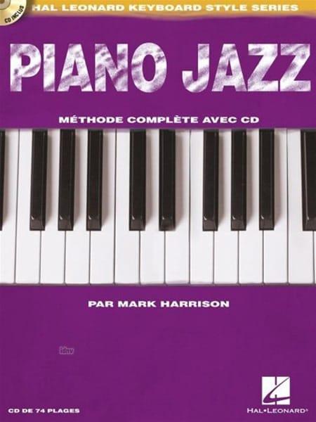 Piano Jazz - Mark Harrison - Livre - Piano - laflutedepan.com