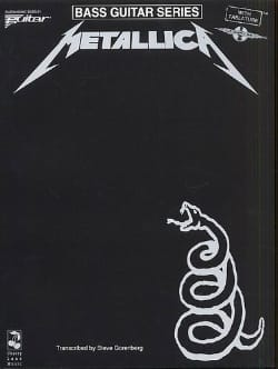 Metallica - Black Album - Partition - di-arezzo.co.uk