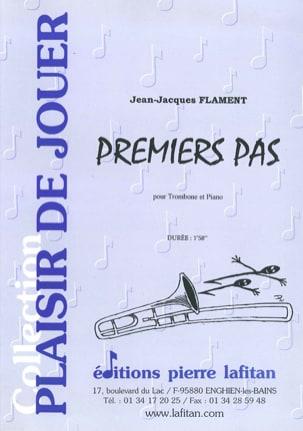 Premiers Pas Jean-Jacques Flament Partition Trombone - laflutedepan