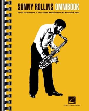 Sonny Rollins - Omnibook Bb Sonny Rollins Partition laflutedepan