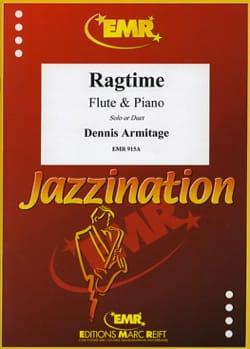 Ragtime Dennis Armitage Partition Flûte traversière - laflutedepan