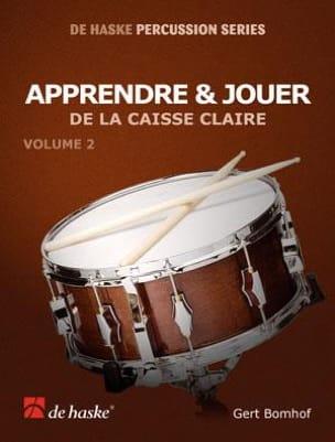 Apprendre & Jouer de la Caisse Claire Volume 2 laflutedepan