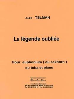 La légende oubliée André Telman Partition Tuba - laflutedepan