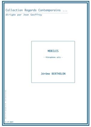 Mobiles Jérôme Bertholon Partition Vibraphone - laflutedepan