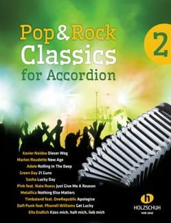 Pop & Rock Classics for Accordion Volume 2 Partition laflutedepan