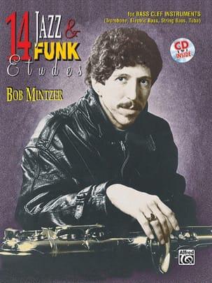 14 Jazz & Funk Etudes Bob Mintzer Partition Trombone - laflutedepan