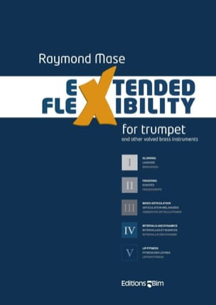 Extended Flexibility for Trumpet Raymond Mase Partition laflutedepan