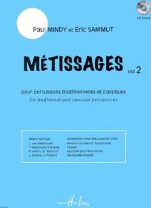 Métissages Volume 2 - Partition - laflutedepan.com