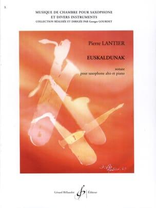 Euskaldunak Pierre Lantier Partition Saxophone - laflutedepan