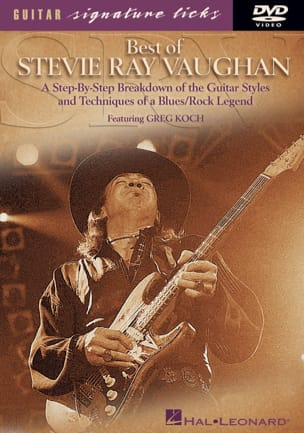 DVD - Best Of Stevie Ray Vaughan - Greg Koch - laflutedepan.com