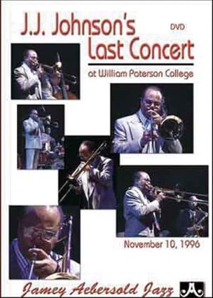 DVD - J.J Johnson's Last Concert J.J. Johnson Partition laflutedepan